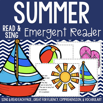 Summer Emergent Reader