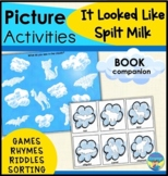 Book Companion Activities for Sorting Story Details- It Looked Like Spilt Milk