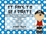 It Pays to be a Pirate- Counting Money