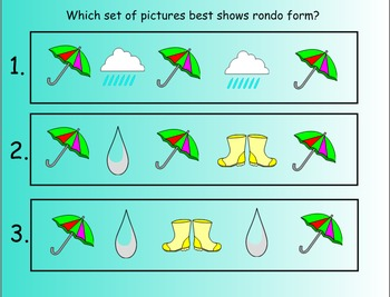 It Rained Rondo: Original Song and Lesson Plan