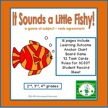 It Sounds a Little Fishy!  (subject-verb agreement)