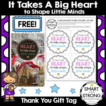 It Takes a Big Heart to Shape Little Minds *FREE DOWNLOAD*