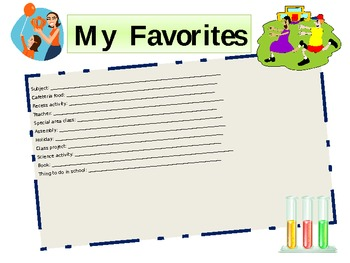 It Was an Awesome Year: Student Memory Booklet