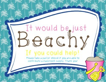 Wish List Beach Themed: It Would be Just Beachy if You'd Help!