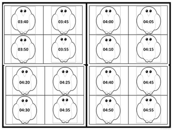 """Clocks """"Every 5 Minutes"""" (Telling Time Game)"""