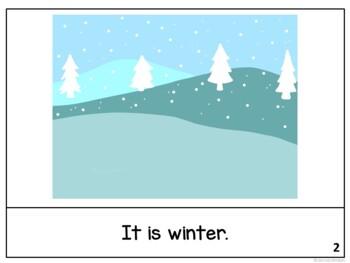 It is December ~December reader {Young Readers, ESL, EFL}
