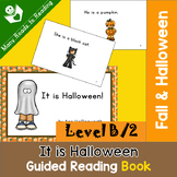 Guided Reading Book Level B, It is Halloween