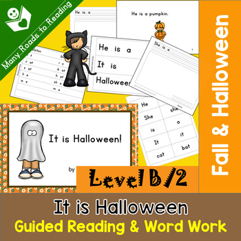 Halloween Guided Reading Book COMPLETE SET, Level B/2: It is Halloween!