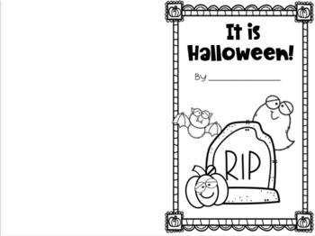 It is Halloween! Interactive Reader