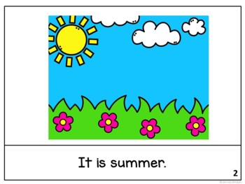 It is July ~July reader {Young Readers, ESL, EFL}