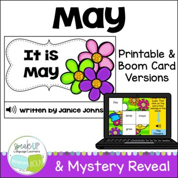 It is May ~May reader {Young Readers, ESL, EFL}