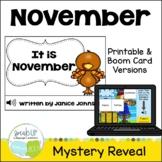 It is November ~November reader {Young Readers, ESL, EFL}