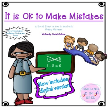 It is OK to Make Mistakes (A Social Story)