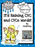 It is Raining CVC and CVCe Words