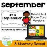 It is September ~ September reader {Young Readers, ESL, EFL}