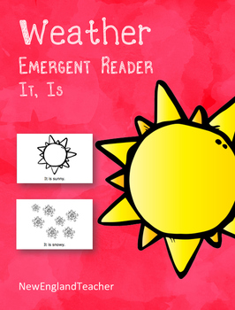 It is Weather Printable Emergent Reader Book for Young Readers