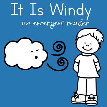 It Is Windy Emergent Reader