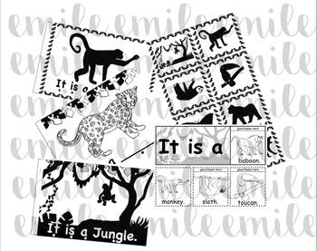 Jungle Emergent Reader Presentation