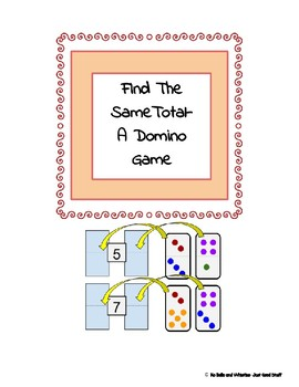 It is all The Same- A Domino Game