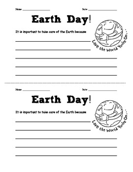 It is important to take care of the earth because