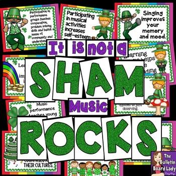 It is not a SHAM. Music ROCKS! Bulletin Board