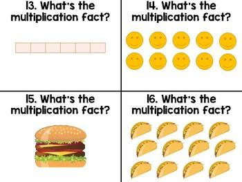 It's ALL Arrays! Beginning Multiplication Game