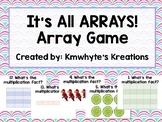 It's ALL Arrays! Beginning Multiplication Game