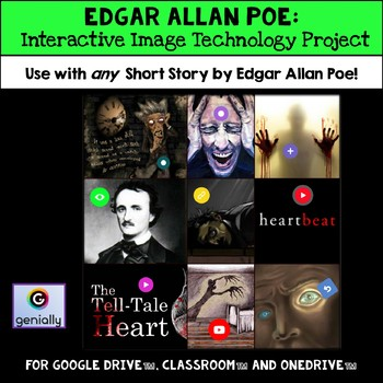 Edgar Allan Poe: Technology Project - Edgar Allan Poe Short Story Unit