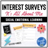 It's All About Me Student Survey   Google Classroom   Dist