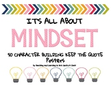 It's All About Mindset Character Building Classroom Quotes