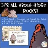ROCK Cycles and Rock Types, inspiring young geologist through informational text