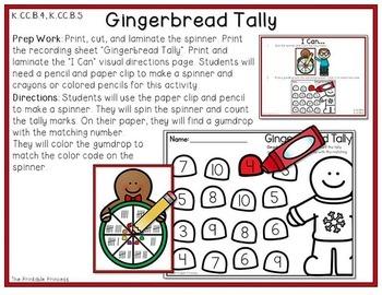 It's All Fun & Games {December Activities for Kindergarten} MATH ONLY