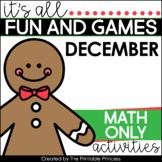 Gingerbread Math Activities for Kindergarten