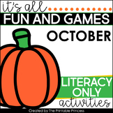 Fall Literacy Activities for Kindergarten