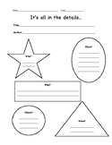 5 W's Graphic Organizer 2nd Grade
