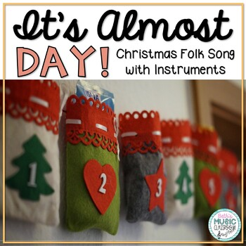 its almost day christmas folk song with instrumental parts orff accomp - Christmas Song Instrumental