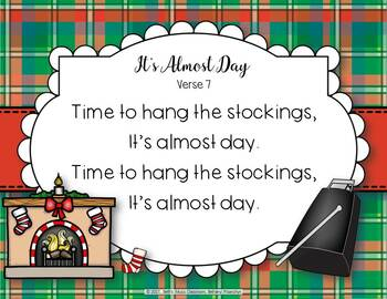 It's Almost Day - Christmas Folk Song with Instrumental Parts & Orff Accomp.