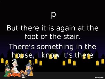 It's Alright...in the Dark. A fun Halloween poem that teaches dynamics.