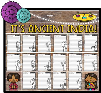 It's Ancient India! Informative Step-Up Paragraph Packet (Core Knowledge, CKLA)