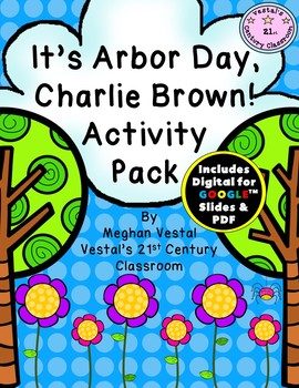 It's Arbor Day, Charlie Brown! Activity Pack {Digital & PDF Included}