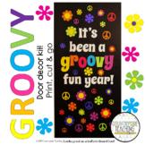 It's Been A Groovy Fun Year Door Decoration Kit - May/June Door Decoration Kit