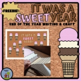 It's Been a SWEET Year - End of the Year freebie