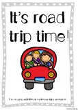 It's CAR TRIP time - Printable fun for car trips