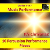 It's Christmas! - 10 Original Performance Pieces for percu