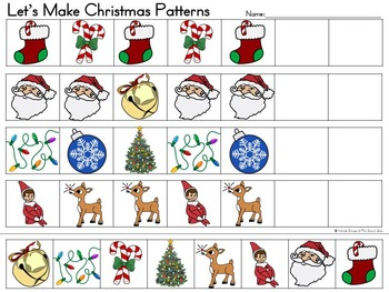 It's Christmas- Adapted Book {Autism, Early Childhood, Special Education}