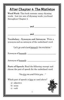 It's Christmas! (Jack Prelutsky) Book Study / Reading Comprehension Unit