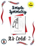It's Cold (2) - Simple Symmetry - Draw Color Trace - 5 pag