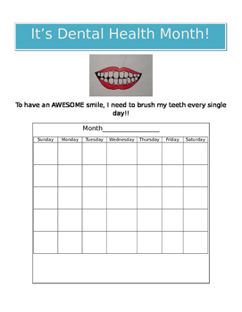 It's Dental Health Month!