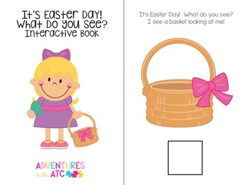 It's Easter Day! - An Interactive Vocabulary Book