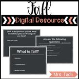 It's Fall Digital Resource